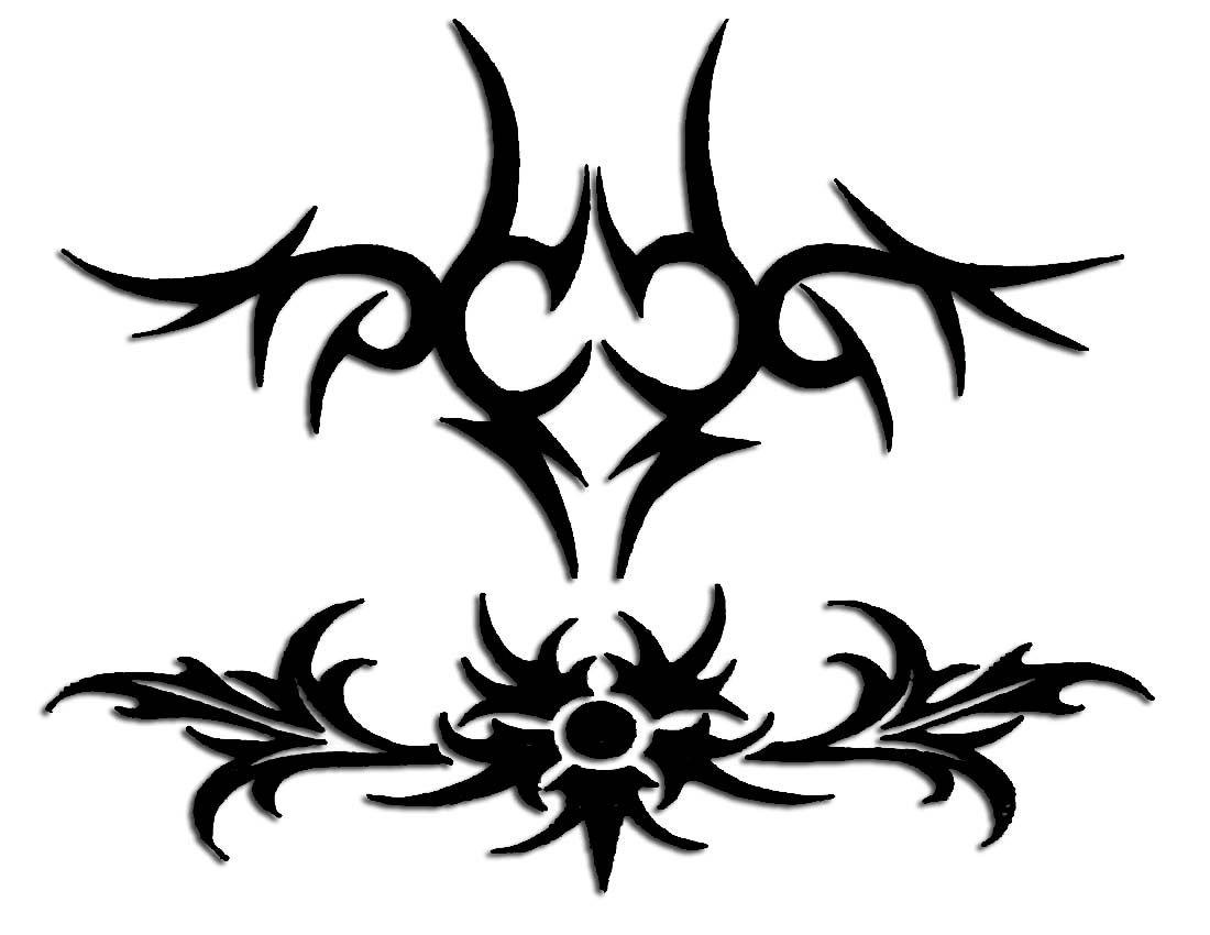 Desenho tatto tribal