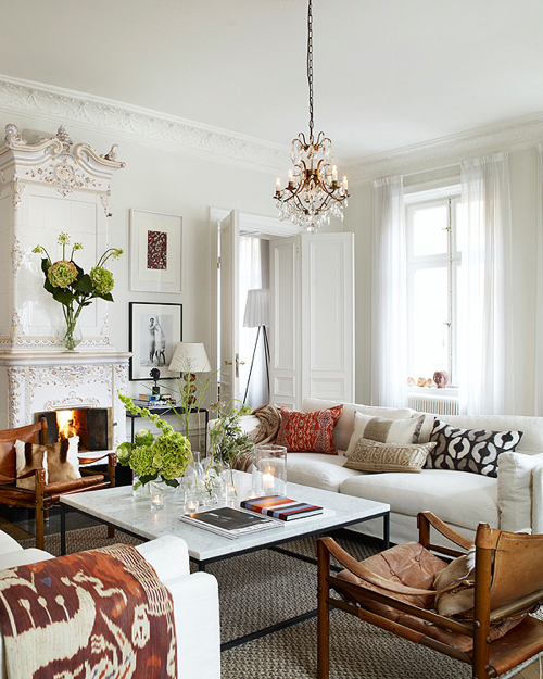 Eclectic Living Room Furniture: Contemporary Eclectic Design