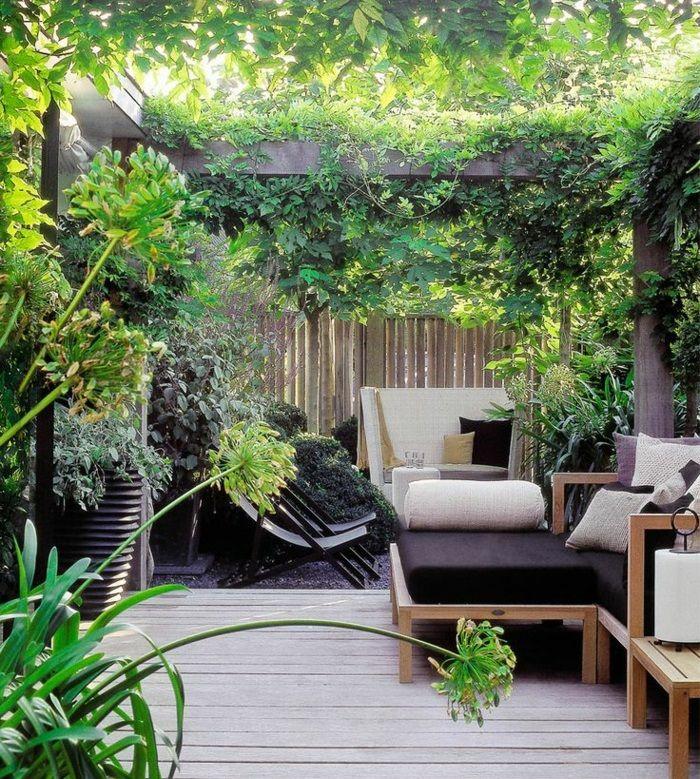 Terrassenbepflanzung Tipps So gestalten Sie eine grüne - terrasse gestalten ideen stile