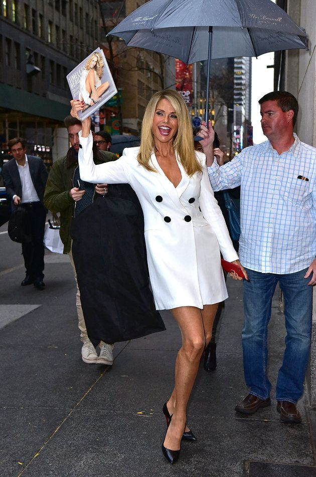 Christie Brinkley Just Slayed Three White Outfits In 24 Hours