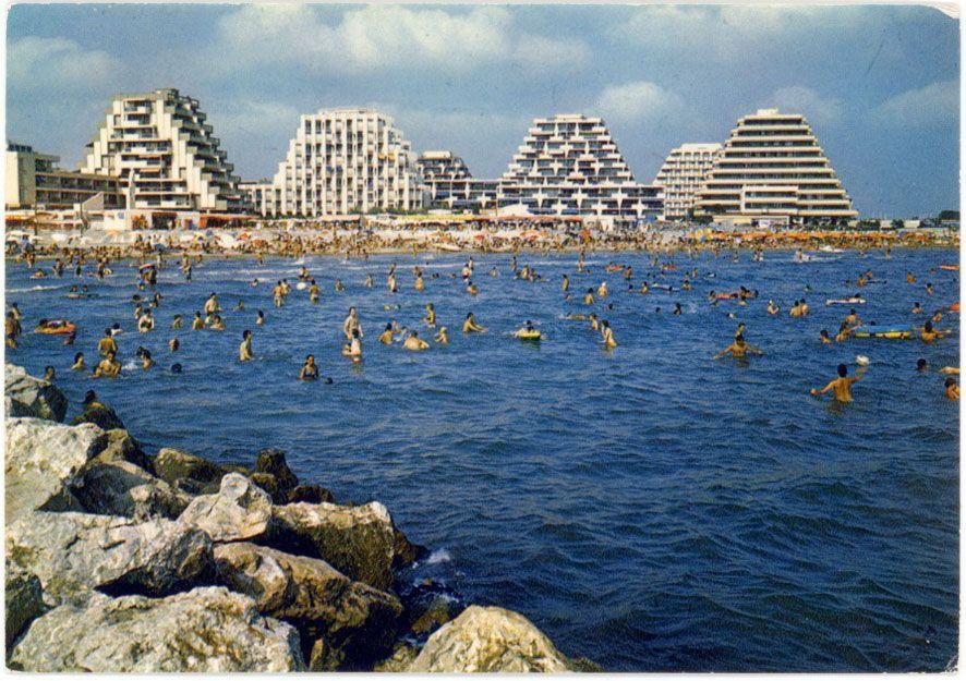 Jean Balladur La Grande Motte France 1960s Futuristic Architecture Architecture La Grande Motte