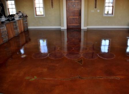 Epoxy Coatings Restore Concrete Floors In Philadelphia Concrete Floors Flooring Wood Floors