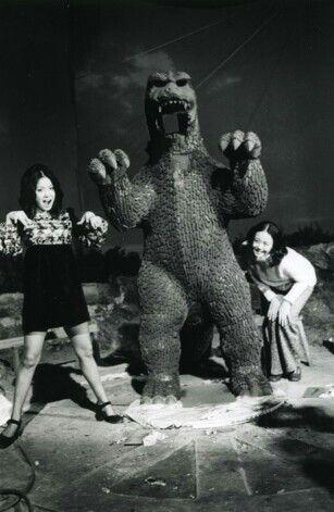 Godzilla vs. Gigan Behind the Scenes Photos