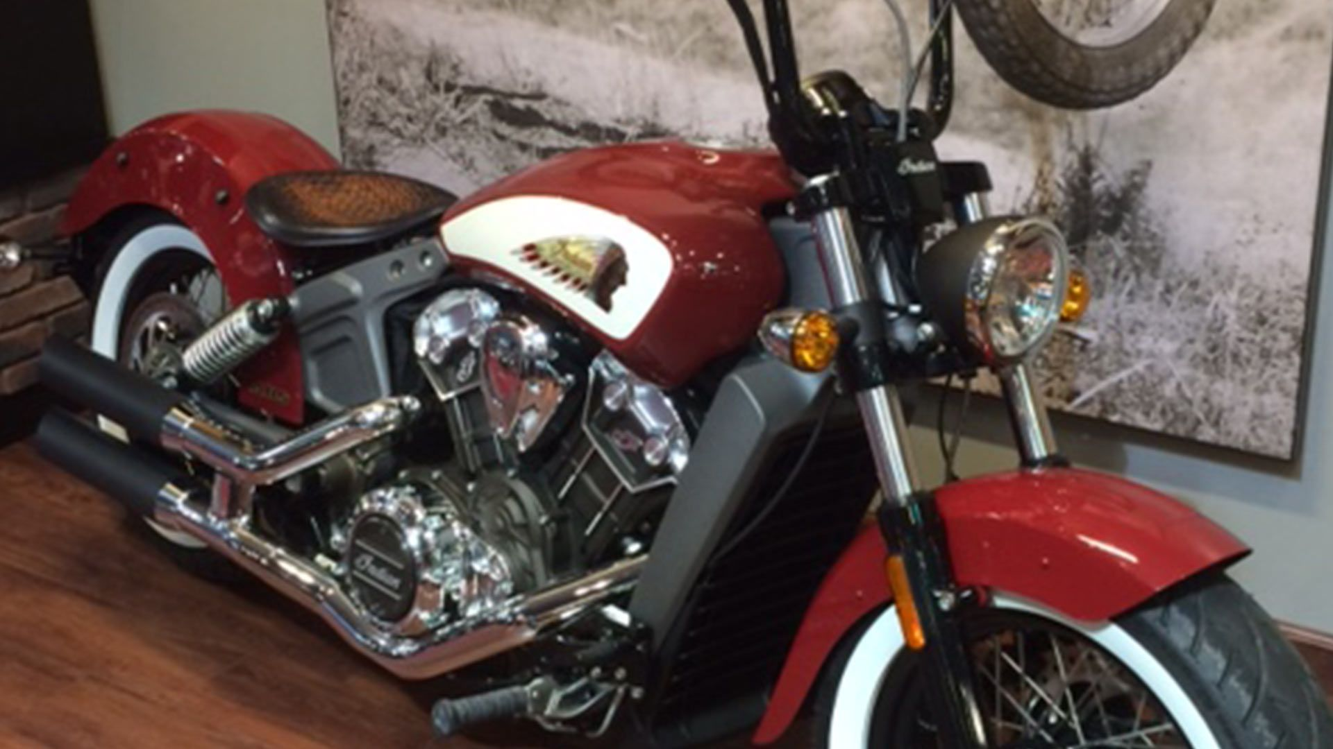 Scout Bobber Sound Of A Monster Project Scout Bobber Indian Scout Scout [ 1080 x 1920 Pixel ]