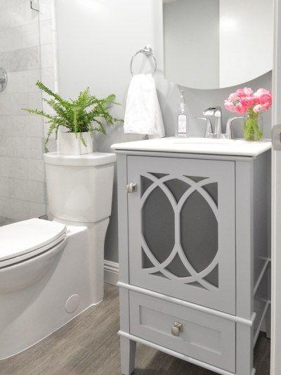 cement look tile for less grey floor tiles basement bathroom rh pinterest com