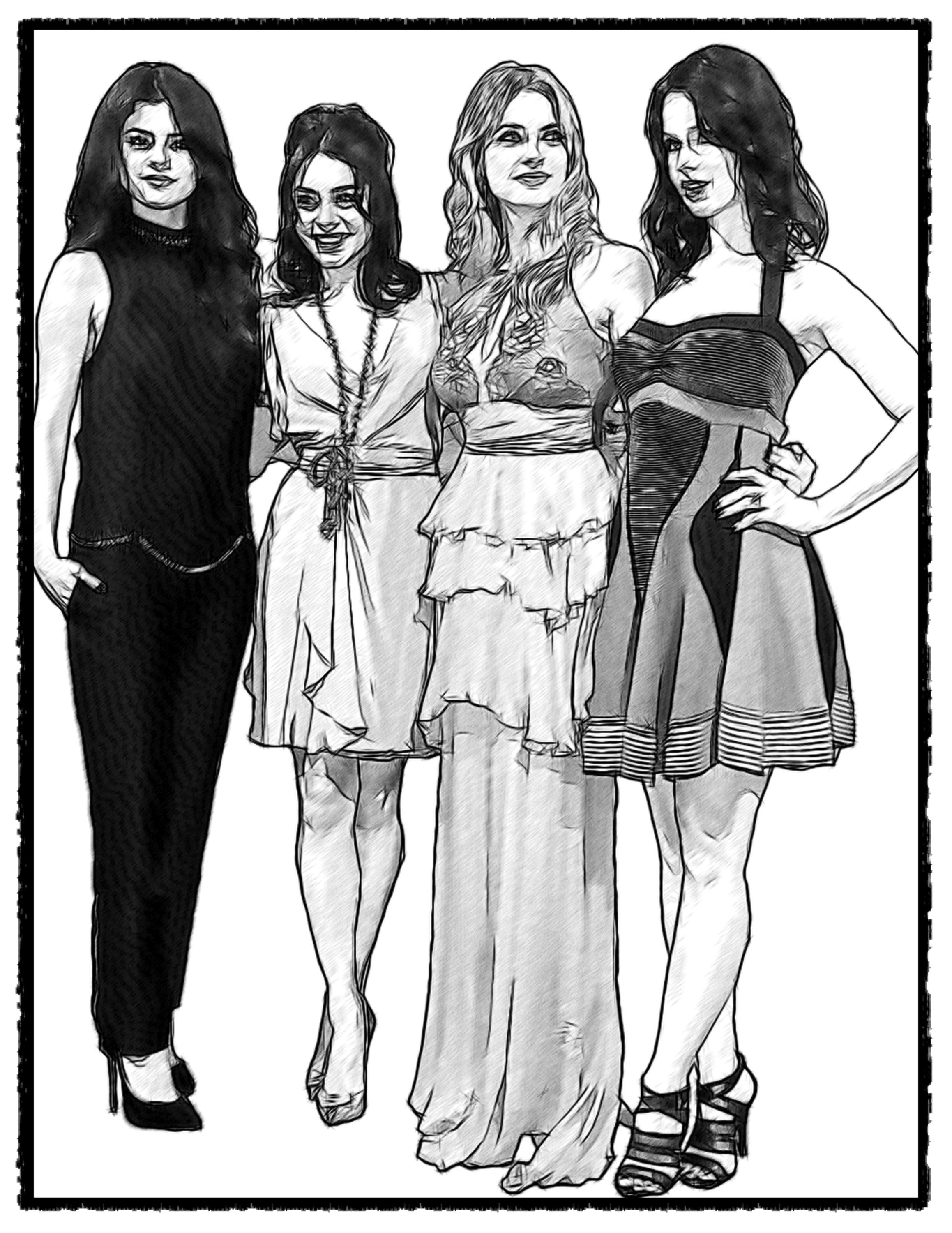 vanessa hudgens coloring pages - photo#22