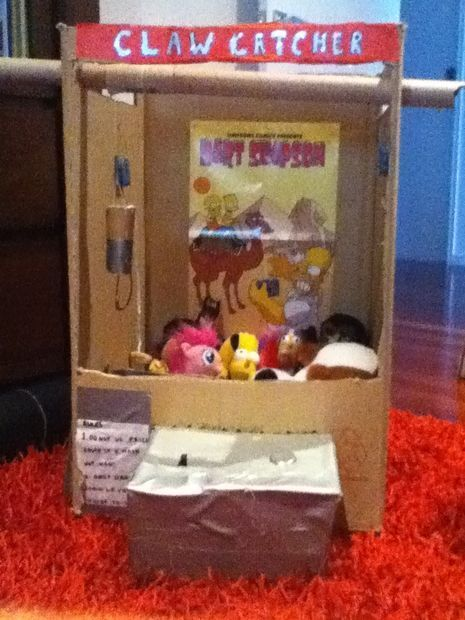 Cardboard Claw Machine Pbl Project Based Learning Claw