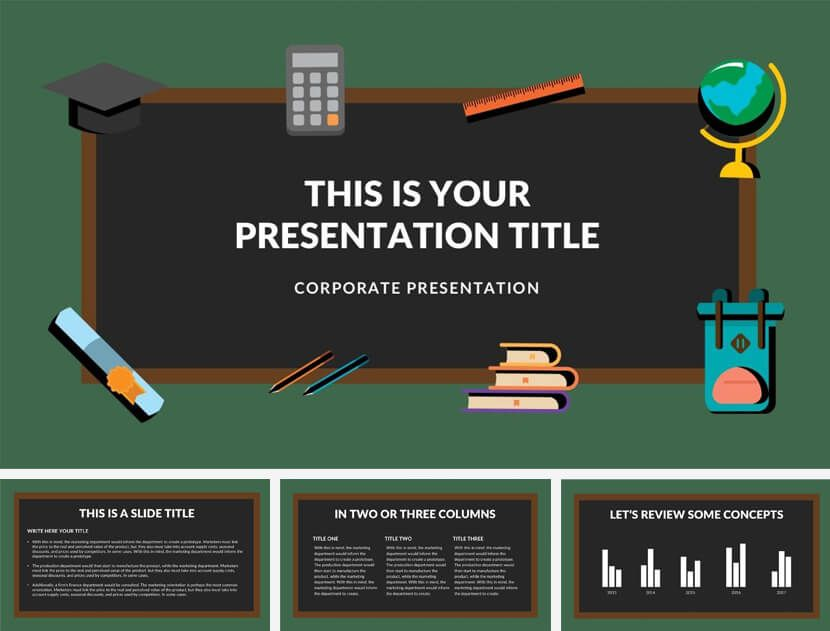 20 Great Free Google Slides And Powerpoint Templates For Teachers School Powerpoint Templates Powerpoint Templates Powerpoint Template Free