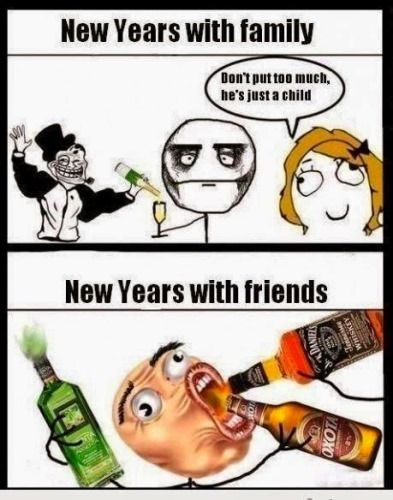 Funny New Year Memes 2017, Hilarious New Year Images GIF\'s, New Year ...