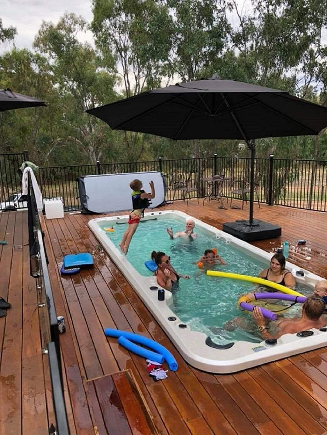 Excited For Another Fun Filled Weekend Swim Spa Small Pools Backyard Spa Pool