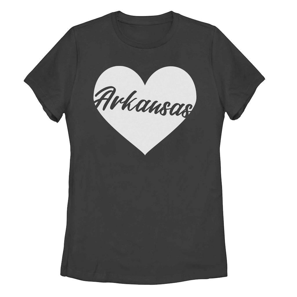 brand new 8592c 834b6 Juniors' Fifth Sun Arkansas Heart Tee Shirt, Girl's, Size ...