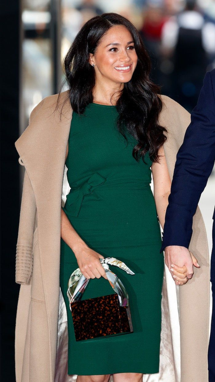 Meghan Markle Casually Rewore Her Engagement Announcement Dress Because She Is A Practical Duchess
