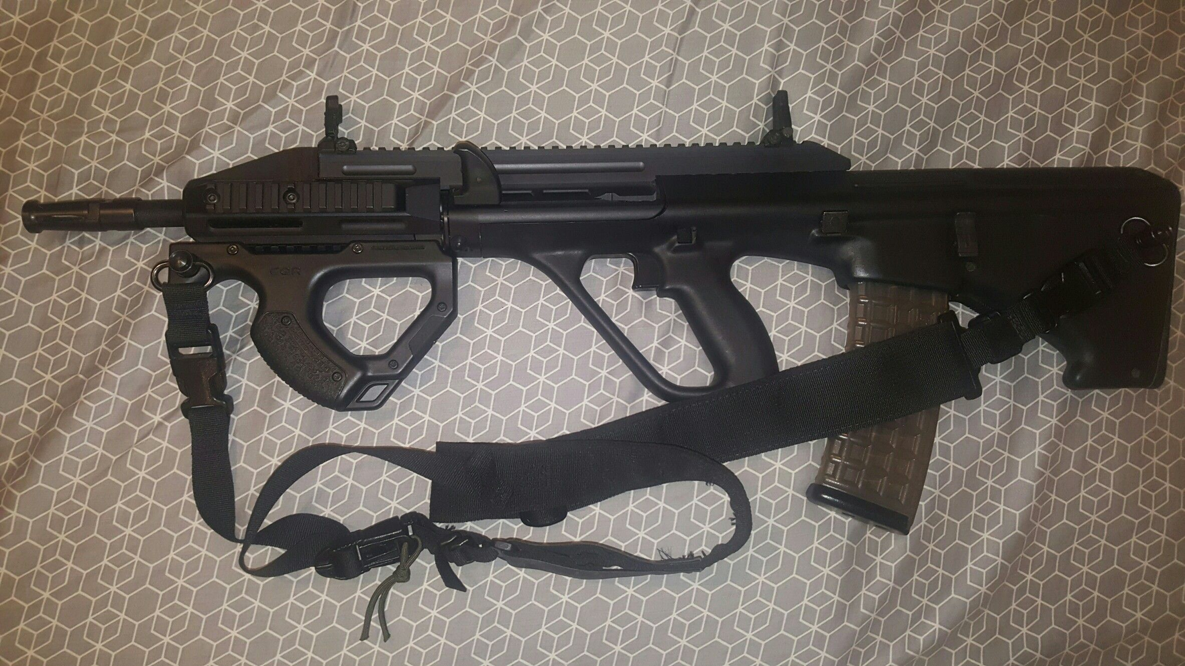 Hera arms cqr page 1 ar15 com - My Steyr Aug A3 Cqc With Hera Arms Cqr Foregrip Still A Work In Progress