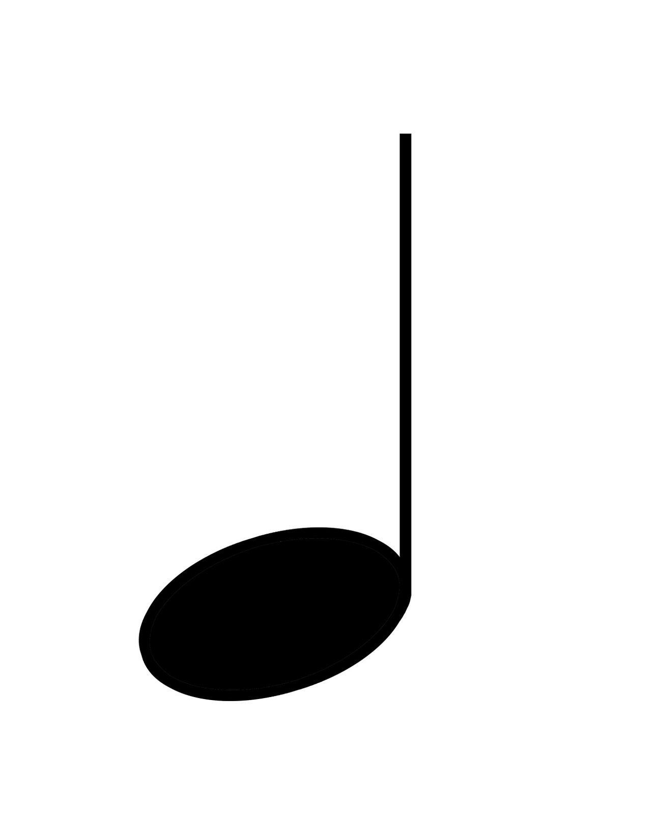Quarter Note Clip Art - Cliparts. | Music | Pinterest | Clip art ...