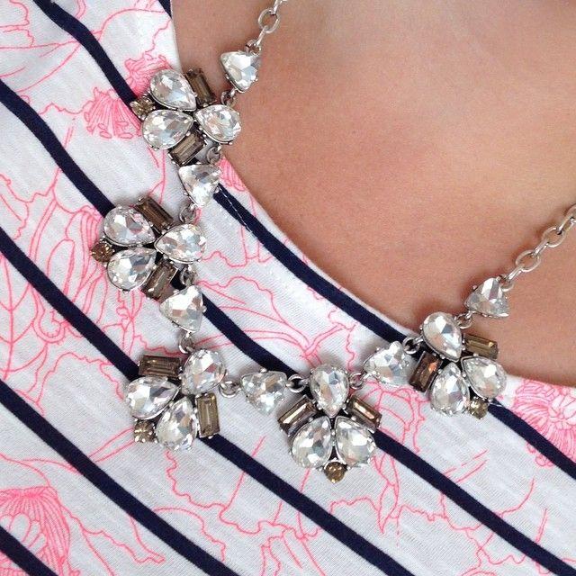 Lila Necklace - silver stunner www.stelladot.com/alicetegtmeier #stelladotstyle #stelladot