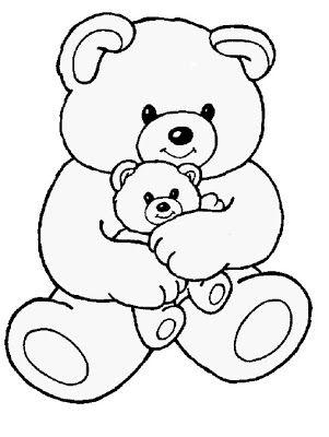 Pin On Teddy Bear Drawing