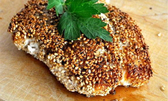 Sesame Seed Crusted Snapper