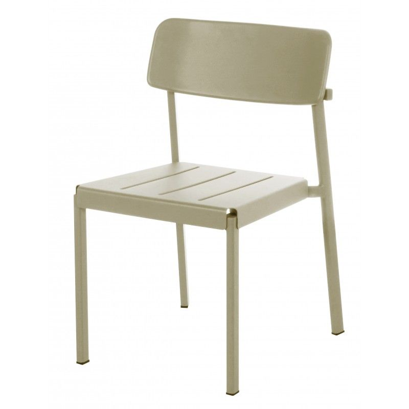 Shine Stacking Chair   Metal Mustard By Emu   Design Furniture And  Decoration With Made In Design