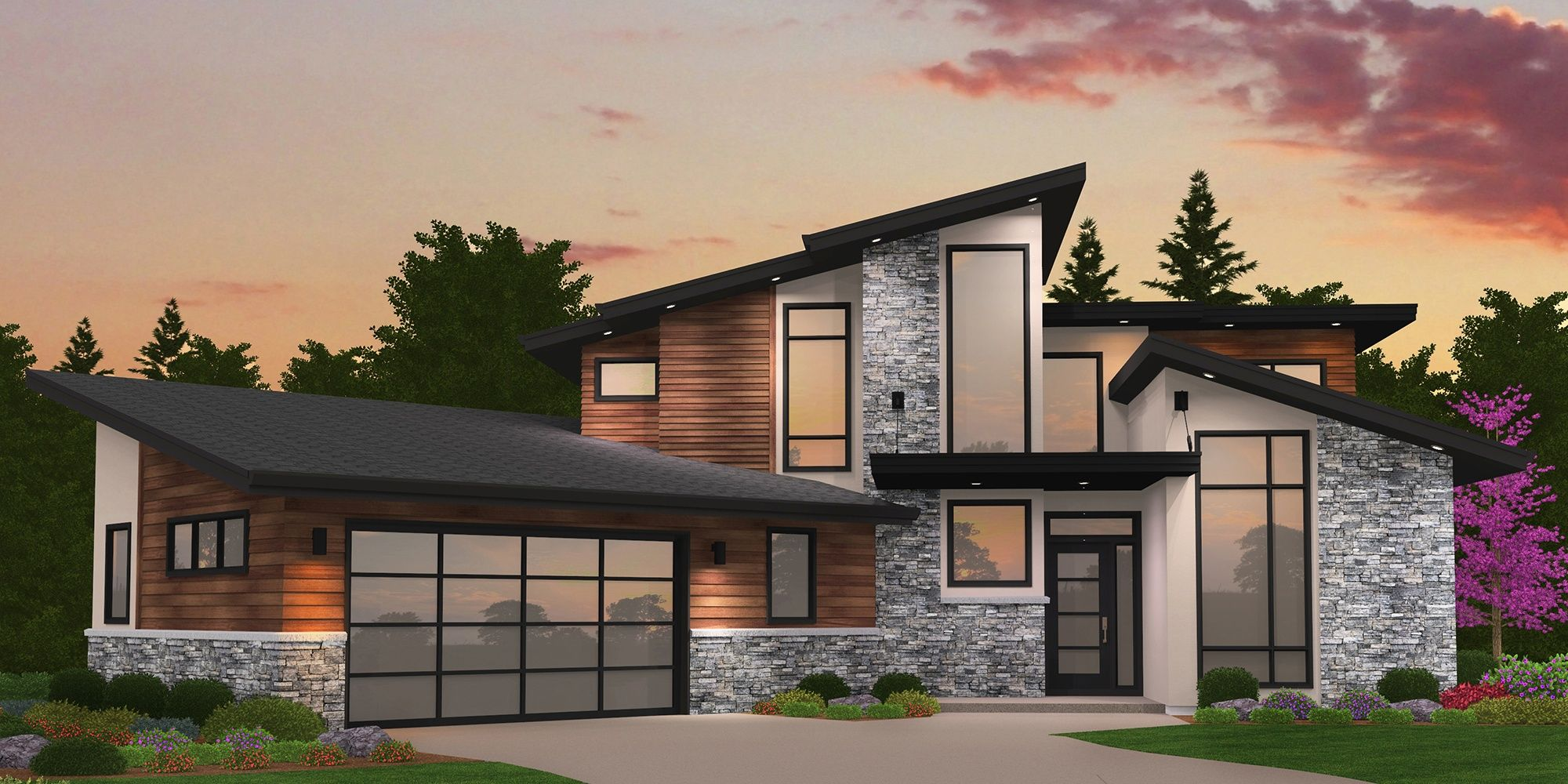 Pin On Modern Home Plans