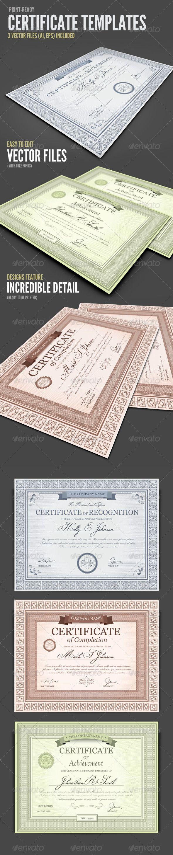 Certificate Templates | Grafik-Layouts, Urkunde und Layout