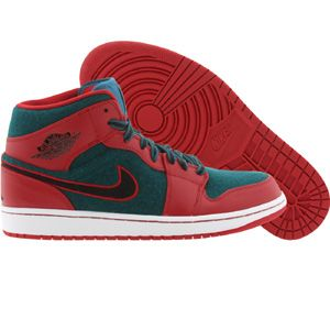 a663cc11695221 Air Jordan 1 Mid Men (red   gym red   black   dark sea) 633206-608 -  105.00