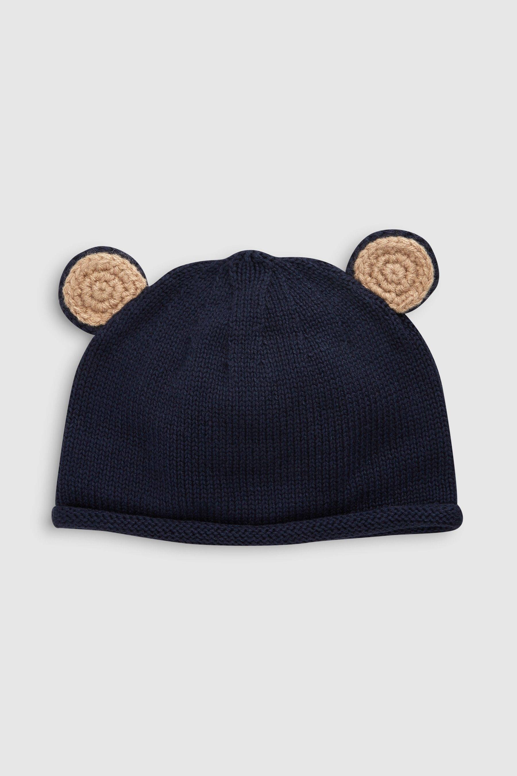 81f67f788 Boys Next Navy Knit Bear Ears Hat (0mths-2yrs) - Blue | Products in ...