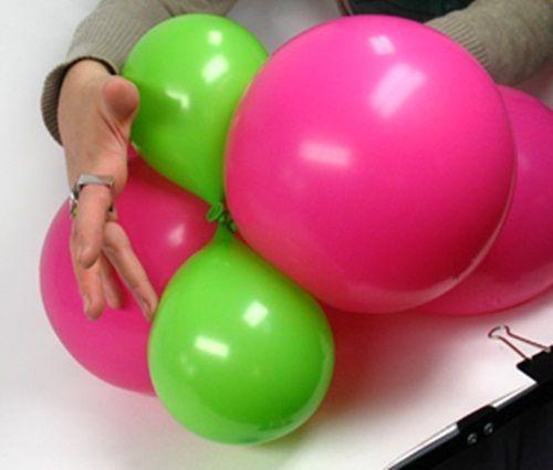 C mo hacer flores con globos para fiestas infantiles - Globos para fiesta ...