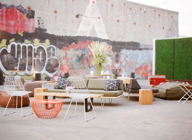 Unique Space LA - AMAZING reception space with funky rentals <3 <3 <3