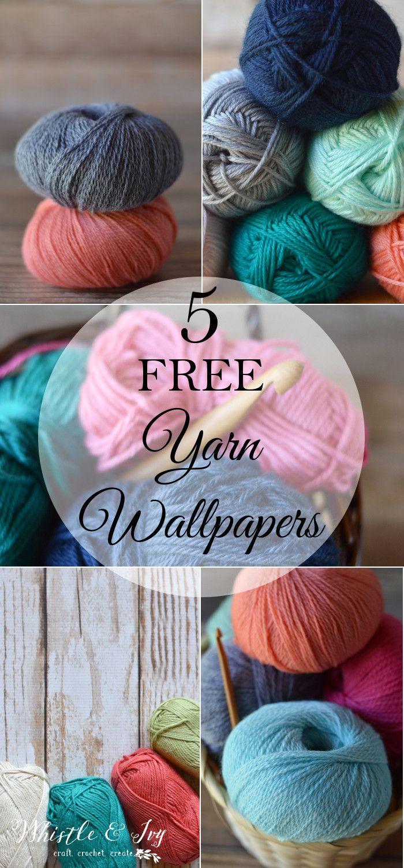 5 Free Pretty Yarn Wallpaper Photos Whistle And Ivy Free Yarn Yarn Yarn Crafts