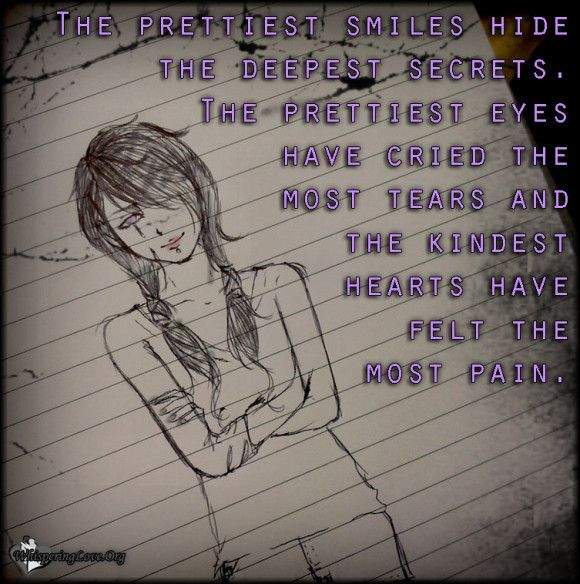 The Prettiest Smiles Hide The Deepest Secrets The Prettiest Eyes