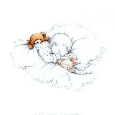 Sleepy Time Iii Prints By Makiko Allposters Co Uk Posters Art Prints Art Print Display Cute Art