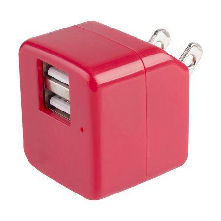 vivitar 2 1 amp dual usb wall charger usb charger amp on usb wall charger id=52586
