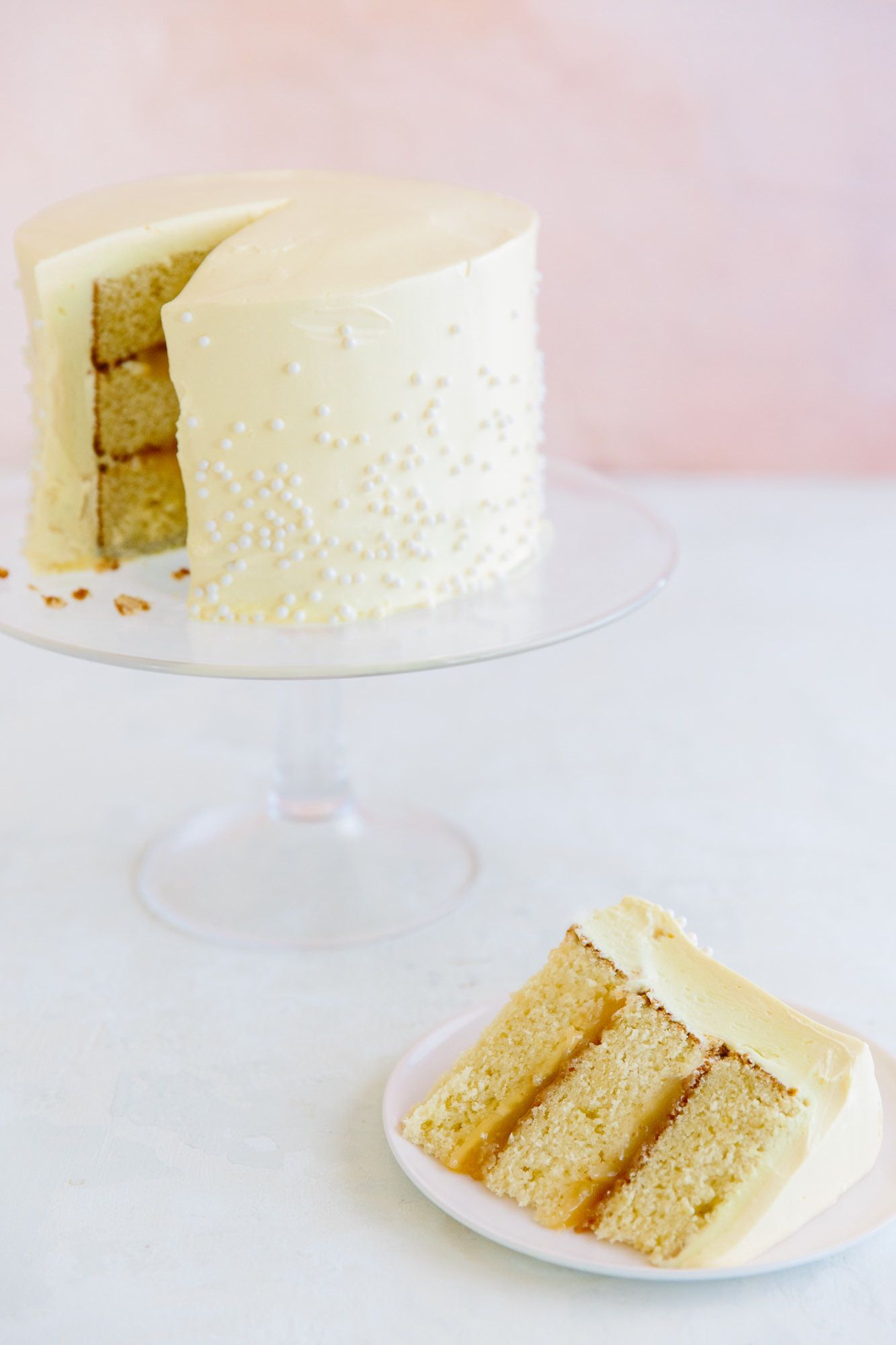Recipe Lemon Supreme Layer Cake Recipe Cake Cake Decorating Cupcake Cakes