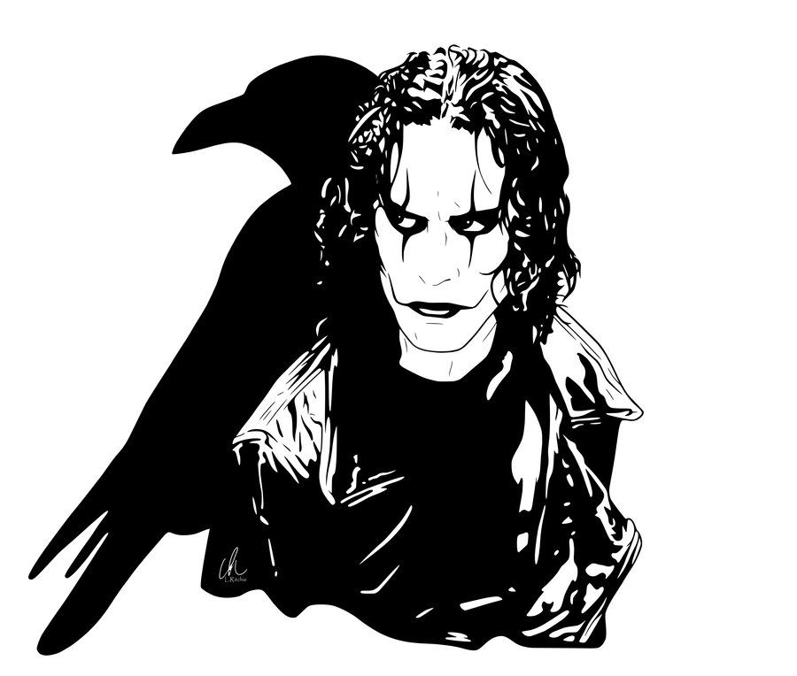 the crow eric by l ritchie on deviantart lritchie art pinterest crows and films. Black Bedroom Furniture Sets. Home Design Ideas