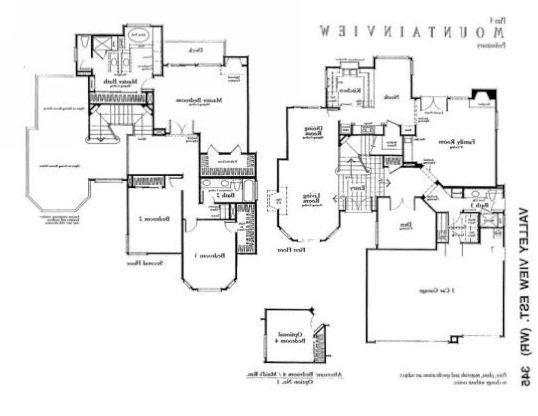 poltergeist house floor plan backwards words