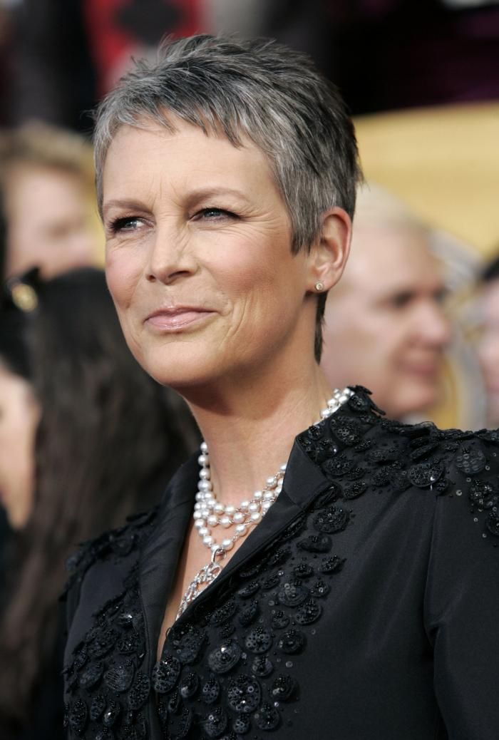 10 Celebs Who Rock Gray Hair 80th Hairstyle Grey Hair