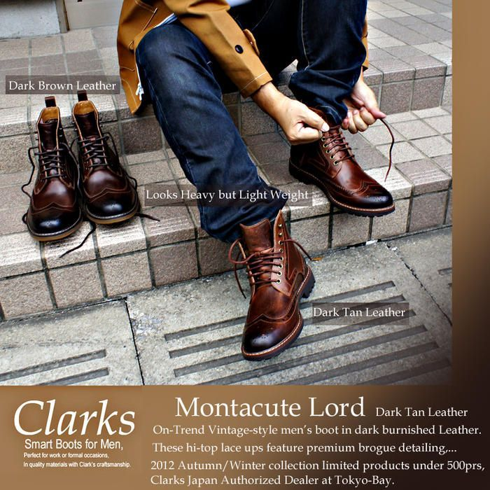 Mens Clarks Montacute Lord just got this and really like