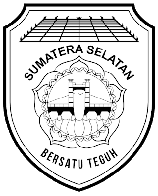 Logo Tutwuri Hitam Putih : tutwuri, hitam, putih, Lambang, Propinsi, Sumatera, Selatan, Sekolah, Dasar,, Satuan