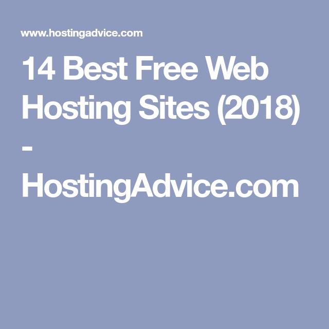 14 Best Free Web Hosting Sites (2018) - HostingAdvice com