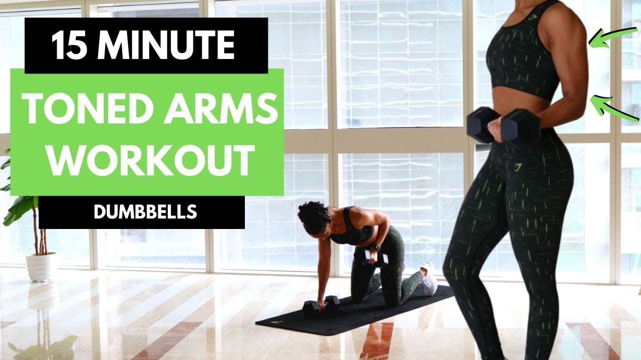 Toned Arms Workout // INTENSE 15 MIN // Lean Arms | Mr and Mrs Muscle