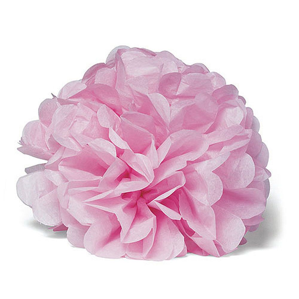 Celebration Peonies Tissue Paper Flowers X Large Pastel Pink 2