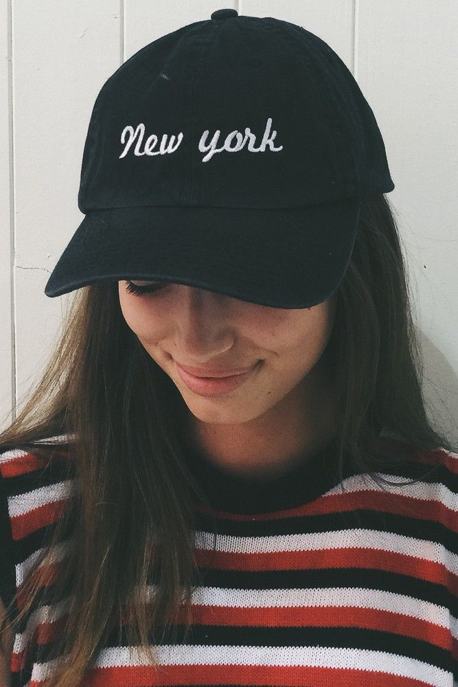 Brandy ♥ Melville | Katherine New York Cap - Hats & Beanies - Accessories