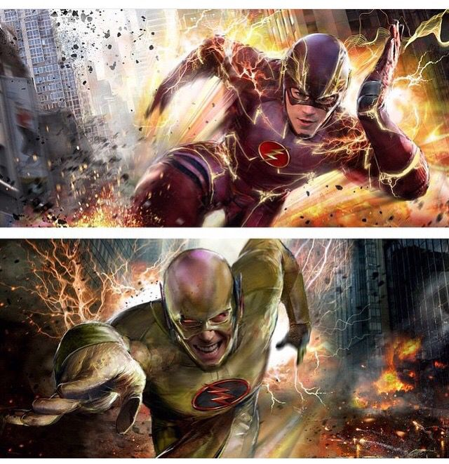 The Flash vs The Reverse Flash