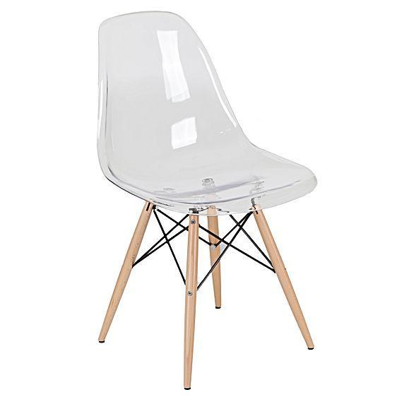 Replica Eiffel DSW Clear Chair Oliver Cash Big Boy Room