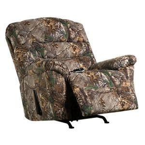Lane Furniture Hunt Camp Collection Rocker Recliner With Heat Massage Realtree Xtra Lane Furniture Rocker Recliners Recliner