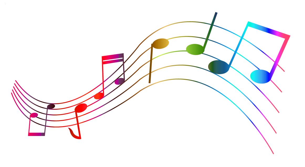 Transparent Colorful Notes Png Clipart Music Notes Drawing Music Notes Art Thanksgiving Clip Art