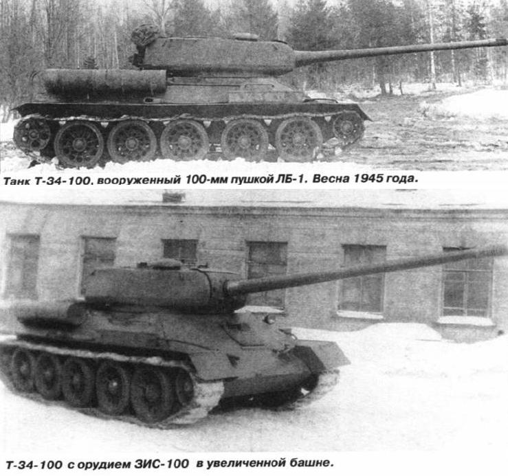 Soviet T-34-100