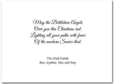 card sentiments religious christmas photo cards christmas pizzazz - Religious Christmas Card Quotes