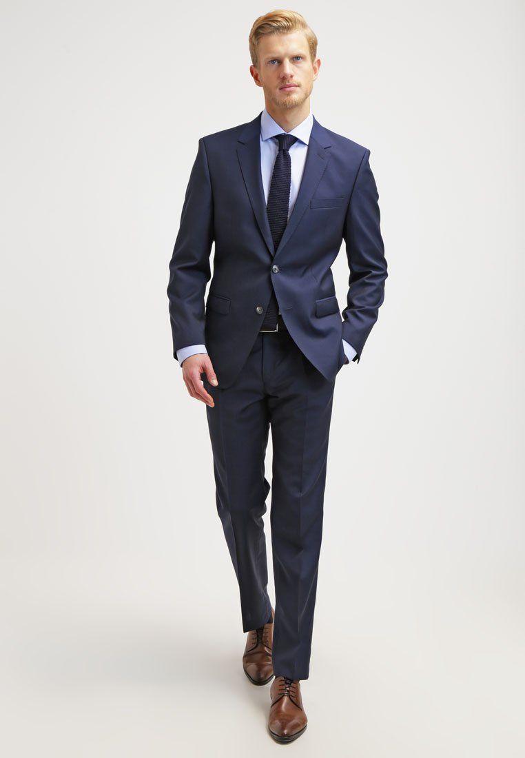 on sale 2eda8 677f5 Bugatti Anzug - dunkelblau für 299,95 € | Suits | Dunkelblau ...
