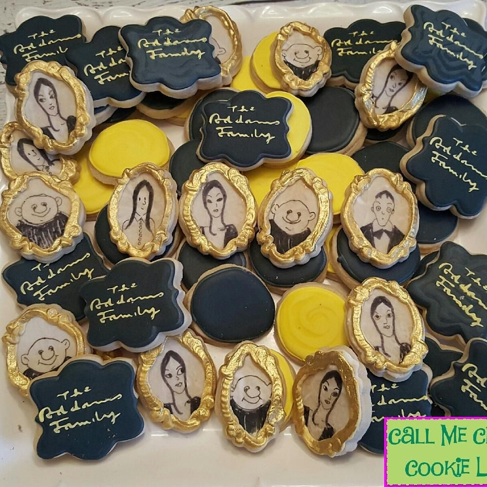 The Addams Family Musical   COOKIES   Pinterest   Halloween 2017 ...